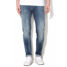 Jack Jones Jack&Jones Glennn Original Kék Férfi Slim Fit Farmernadrág, W33-L32 (12109970-BLUE-DENIM-W33-L32)