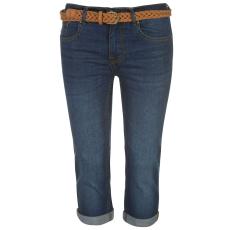 Soul Cal 3/4 nadrág SoulCal Belted Jeans női