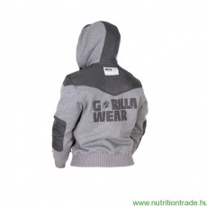 Gorilla Wear DISTURBED JACKET szürke XL Gorilla Wear