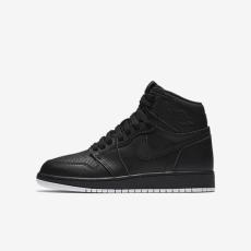 Nike Air Jordan 1 Retro High OG Perforated Black GS