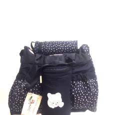 Csakcsajok Macis sötétkék kismama táska