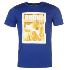Puma Mountain QT férfi póló királykék S