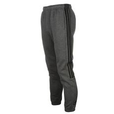 Adidas 3 Stripe férfi melegítő alsó fekete XL