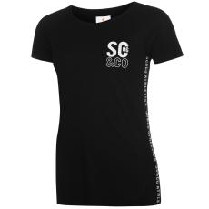 SoulCal Side Tape női póló fekete S