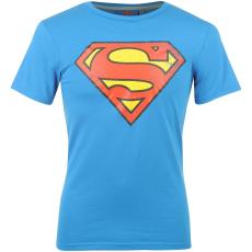 DC Comics Superman férfi póló kék L
