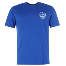 Team Small Crest férfi póló kék L