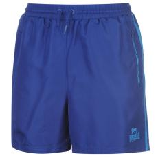 Lonsdale Two Stripe Woven férfi rövidnadrág kék XL