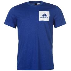 Adidas Small Chest Logo férfi póló kék XL