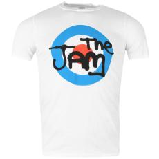 Official The Jam férfi póló fehér S