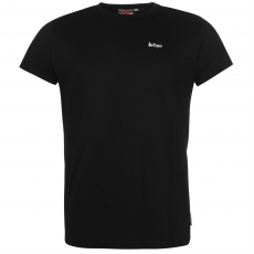 Lee Cooper Essential Crew férfi póló fekete L