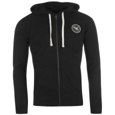 SoulCal Signature férfi kapucnis cipzáras pulóver fekete S