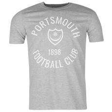 Team Portsmouth férfi póló szürke XXL