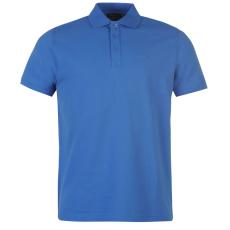 Pierre Cardin Plain férfi galléros póló kék L