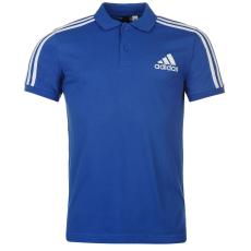 Adidas 3S Logo galléros férfi póló kék XL