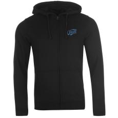 Oneill Logo férfi kapucnis cipzáras pulóver fekete L