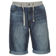 No Fear Férfi farmer rövidnadrág sötétkék XL