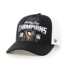 47 Brand Pittsburgh Penguins Siltes sapka 2016 Stanley Cup Champions Locker Room