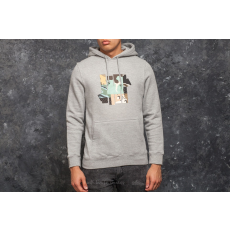 Undefeated Patchwork Strike Hood Grey Heather