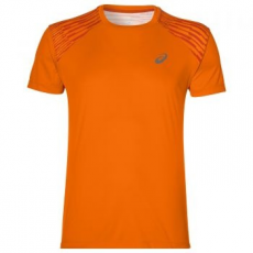 Asics fuzeX Tee férfi trikó, Orange Pop, M (141238-0524-M)