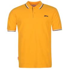 Slazenger Tipped férfi galléros póló narancs 3XL