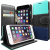 CASEOLOGY Caseology iPhone 6 (4.7'') Stand View Wallet oldalra nyíló flip tok, sötétkék