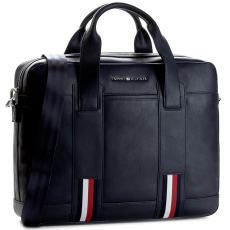 Tommy Hilfiger Laptoptáska TOMMY HILFIGER - Novelty Stripe Computer Bag AM0AM01868 901