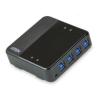 ATEN 4 portos Periféria Megosztó USB3.0
