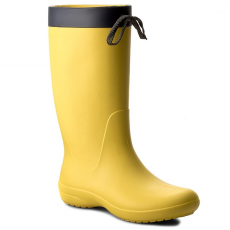 CROCS Gumicsizmák CROCS - Freesail Rain Boot 203541 Lemon