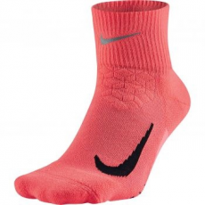 Nike Quarter Run unisex zokni, Hot Punch/Black, M (SX5463-667-M)