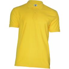 KEYA férfi galléros piké póló, sárga