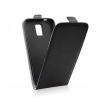Flip szilikon belső Flip tok szilikon belsővel, Samsung Galaxy J5 (2017) fekete