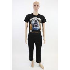 Boxer kutyás férfi pamut póló