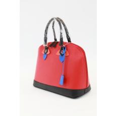 Piros színű táska