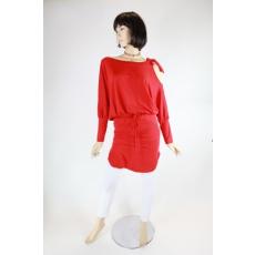 Piros különleges női felső