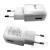 LG MCS-H05ED hálozati töltő adapter, 5V/1,8A, fehér, gyári, csomagolás nélkül