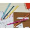 Ceruza, HB, hatszögletű, STABILO Pencil 160, KÉK TEST (160/02-HB)