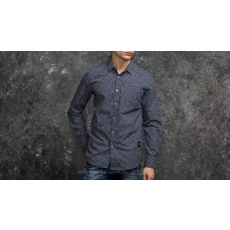 Wemoto Ohata Shirt Navy Blue