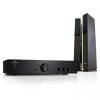 """Auna """"Elegance Tower Bluetooth"""", ezüst, 2.0 HiFi összeállítás, MP3-CD lejátszó + erősítő, 600 W"""