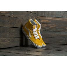 Vans Sk8-Hi (Suede/Canvas) Spectra Yellow/ True White