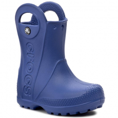 CROCS Gumicsizmák CROCS - Handle It Rain Boot Kids 12803 Cerulean Blue