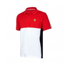 Branded Scuderia Ferrari pánské polo Póló Cut and Sew red F1 Team 2017 - S