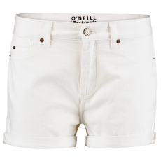 O'Neill LW Boyfriend White Shorts D (O-7A7508-q_1030-Powder White)