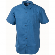 Columbia Cape Side Solid Short Sleeve Shirt Ing D (1715241-q_413-Steel)