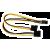 Inline 4PIN (molex) - 6PIN (vga) átalakító kábel  (INL 26628)