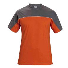 AUST DESMAN trikó szürke/narancssárga M