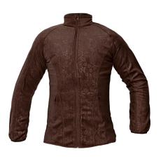 CRV YOWIE női polár kabát barna L
