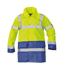 Cerva SEFTON kabát HV sárga/royal XXXL
