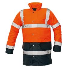 Cerva SEFTON kabát HV narancs/navy XXXL