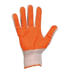 Cerva SCOTER pamut narancs PVC mártott kesztyű - 10