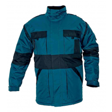 Cerva MAX téli kabát párnázott zöld/fekete S